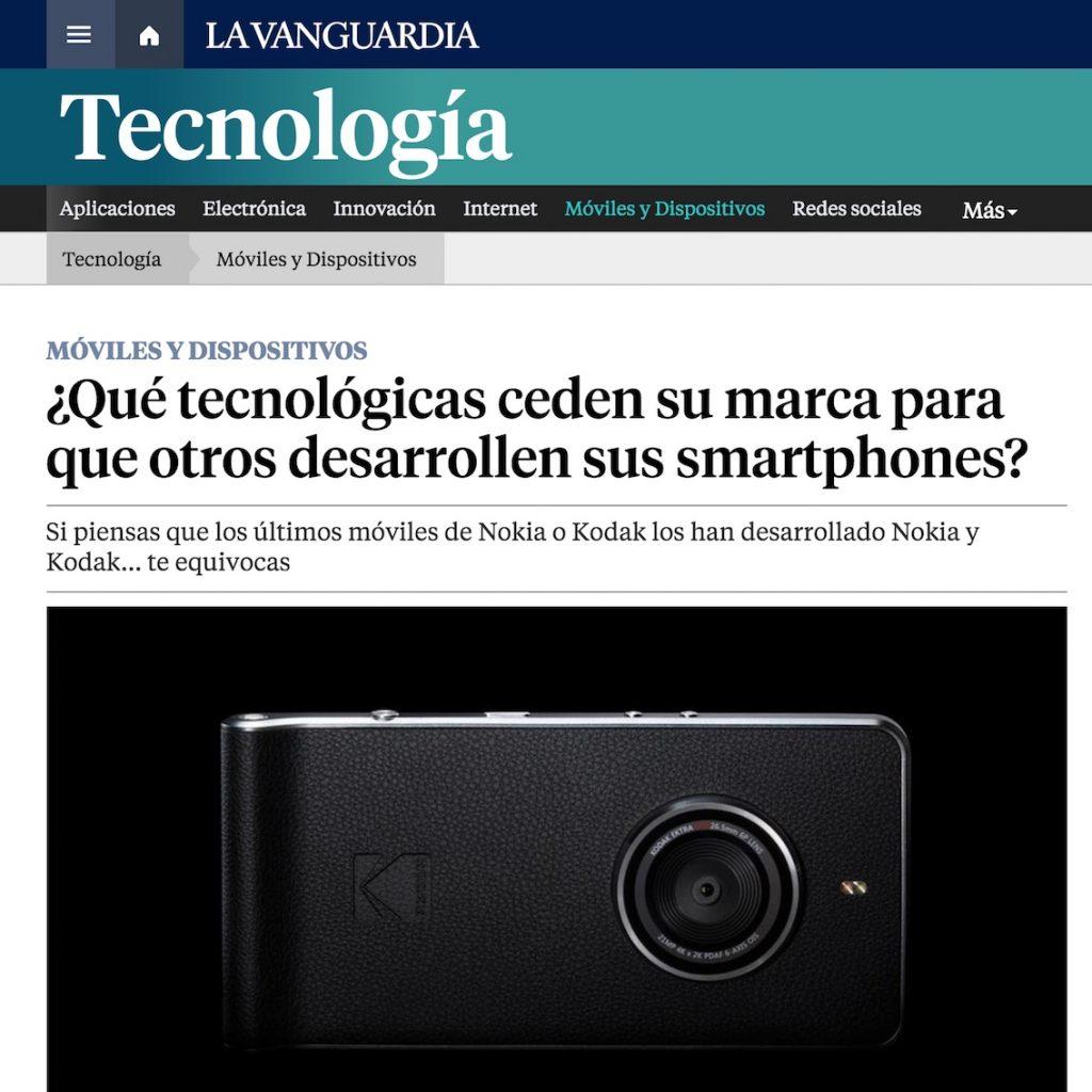 ¿Qué tecnológicas ceden su marca para que otros desarrollen sus smartphones? - La Vanguardia