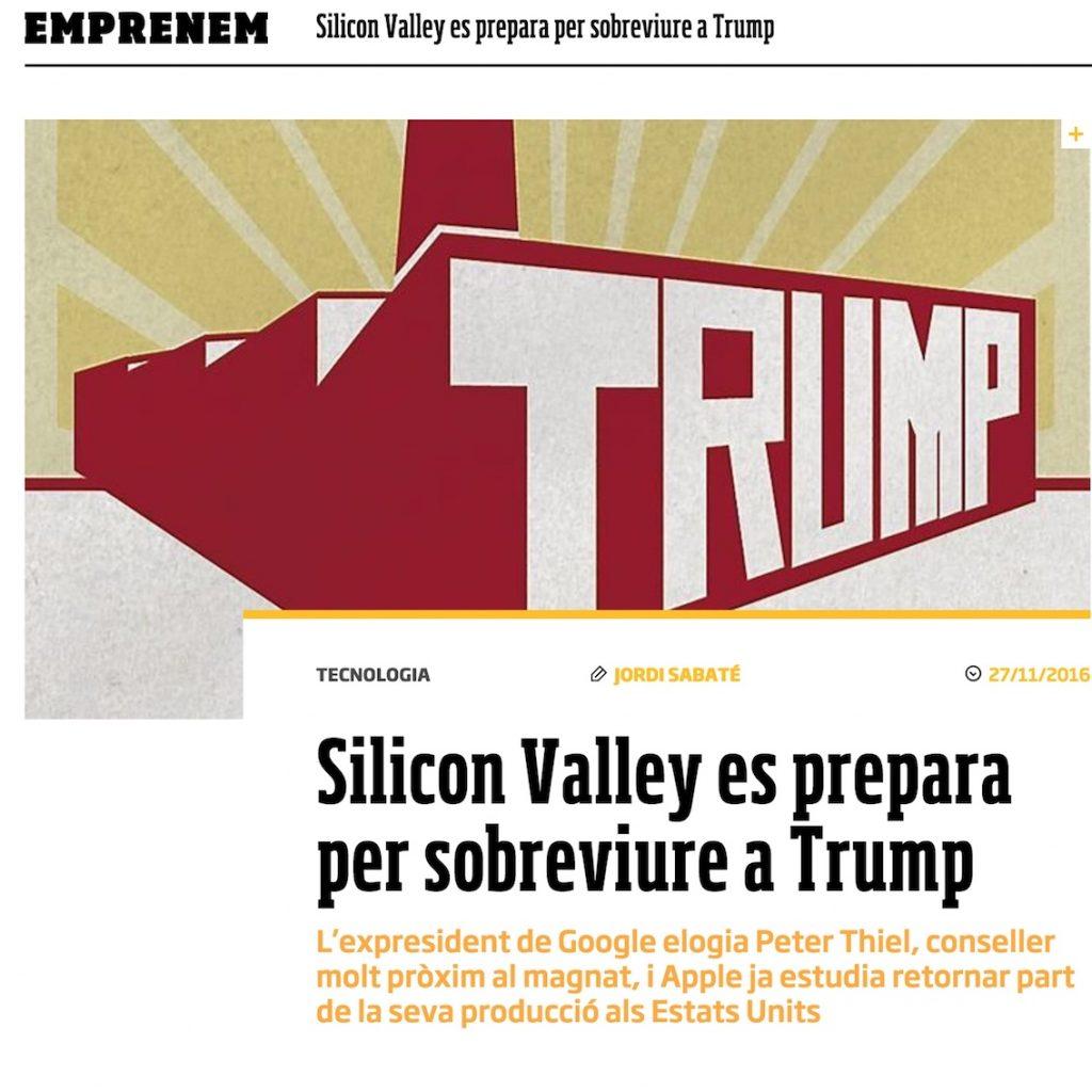 Silicon Valley es prepara per sobreviure a Trump - Ara