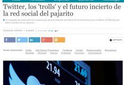 Twitter, los 'trolls' y el futuro incierto de la red social del pajarito - Cinco Días