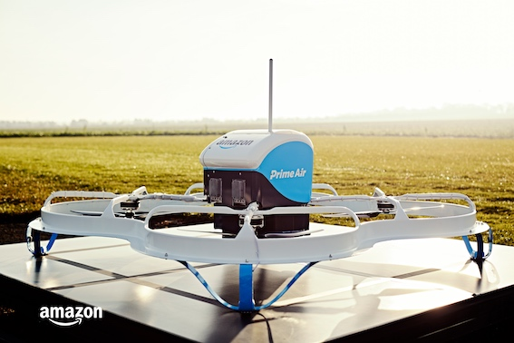 Amazon Prime Air - Private trial Dec 2016