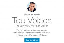 Linkedin Top Voices 2016
