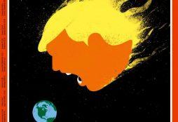 Der Spiegel cover on Trump