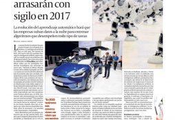 Inteligencia artificial y robótica arrasarán con sigilo en 2017 - Cinco Dias