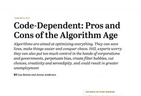 The algorithmic age - Pew Research Center