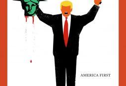 Trump cover - Der Spiegel