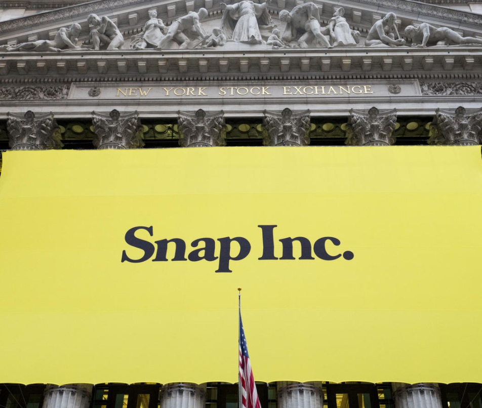 Snap IPO in the NYSE
