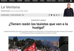 ¿Tienen razón los taxistas que van a la huelga? - La Ventana (SER)