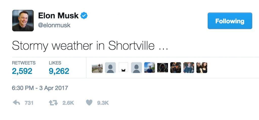 Elon Musk tweet #848935705057280001