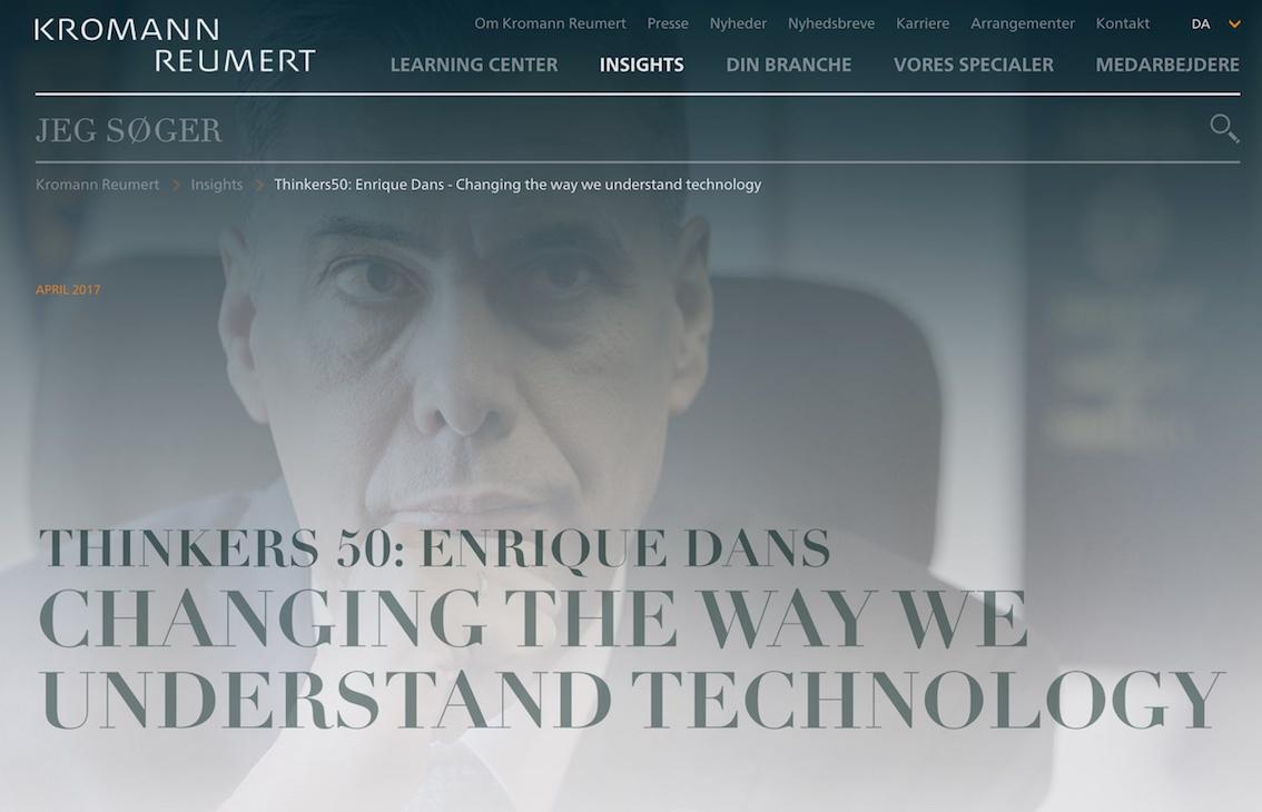 Cartas al CEO: Machine Learning » Enrique Dans