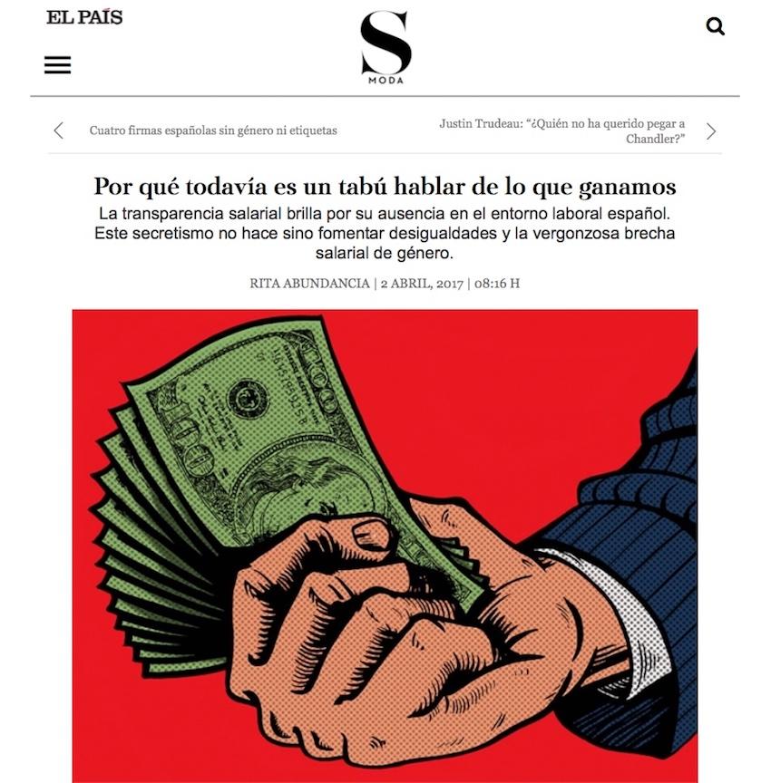Por qué todavía es un tabú hablar de lo que ganamos - El País