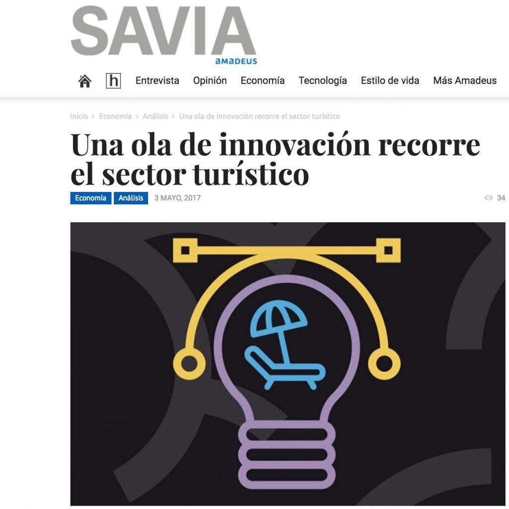 Una ola de innovación recorre el sector turístico - Savia
