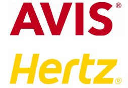 Avis and Hertz logos