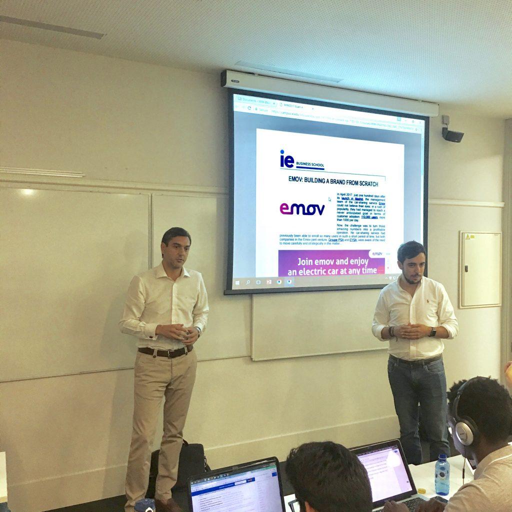 EMOV exam: Fernando Izquierdo and Carlos Blanco