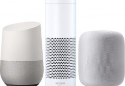 Home assistants: Amazon Echo, Google Home and Apple HomePod