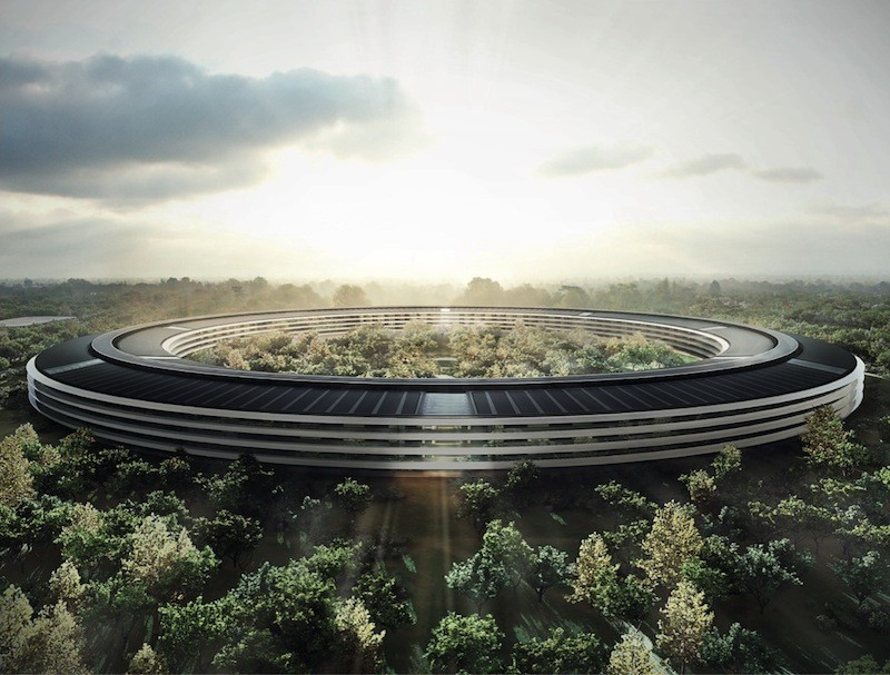 Apple Campus (IMAGE: Foster + Partners, ARUP, Kier + Wright, OLIN, Apple)