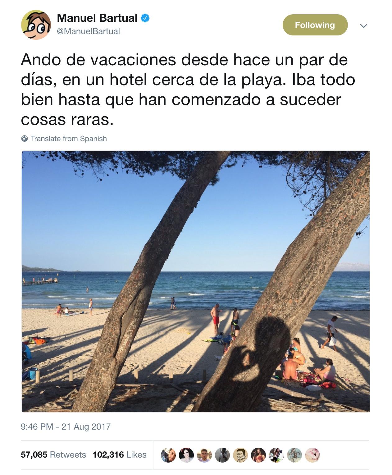 Manuel Bartual, la twitternovela y la viralidad