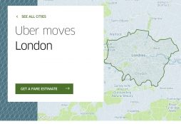 Uber moves London