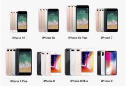 Apple iPhone family