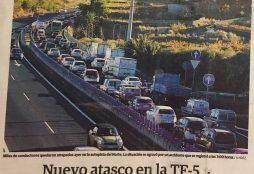 Atascos Tenerife Nov 2017 - El Día