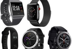Wearables: Fitbit, Apple Watch, Xiaomi, Samsung Gear, Garmin
