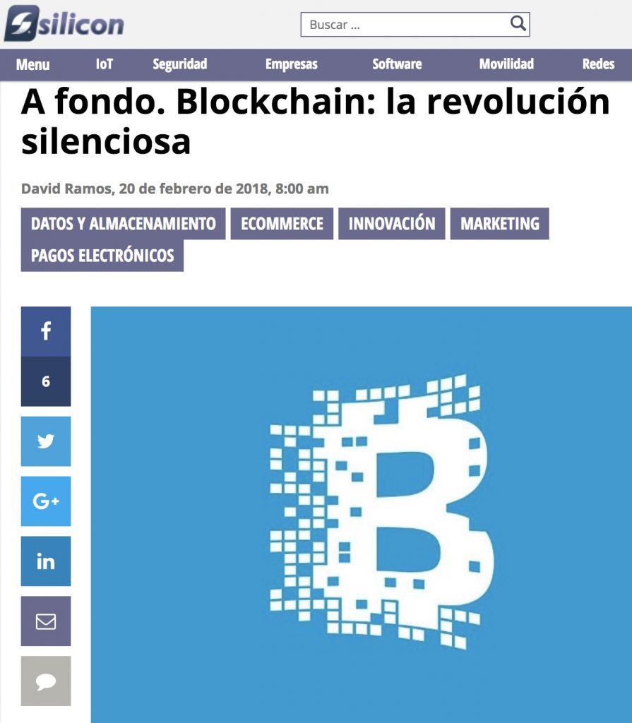 Blockchain: la revolución silenciosa - Silicon.es