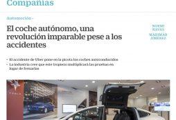 El coche autónomo, una revolución imparable pese a los accidentes - Cinco Días