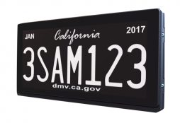 Smart license plate (IMAGE: Reviver Auto)