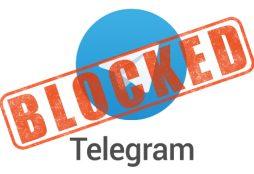 Telegram blocked
