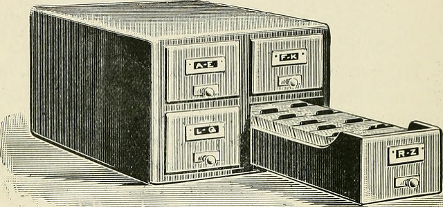 Library archive system