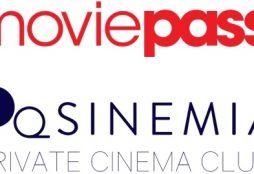 MoviePass and Sinemia logos
