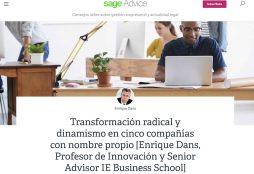 Transformación radical y dinamismo - Sag