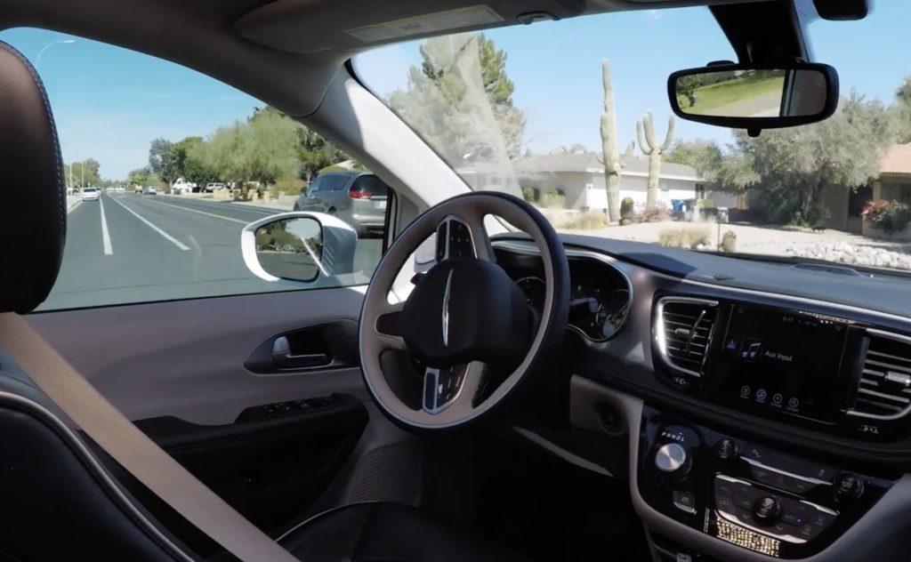 Self-driving (IMAGE: Waymo)