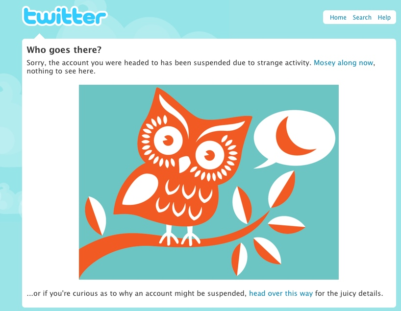 Twitter account suspended (IMAGE: Kent Bye, CC BY)