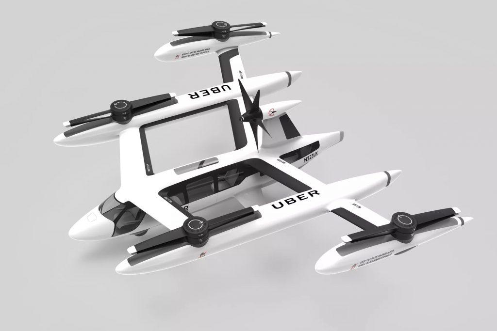 Uber flying car (IMAGE: Uber)