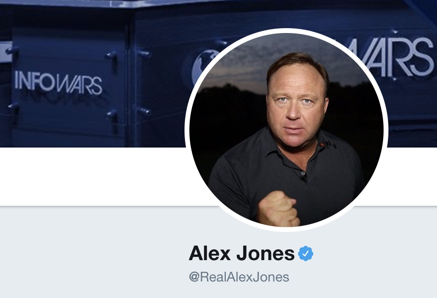 Alex Jones on Twitter