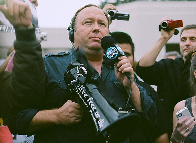 IMAGE: Alex Jones, by Sean P. Anderson - CC BY