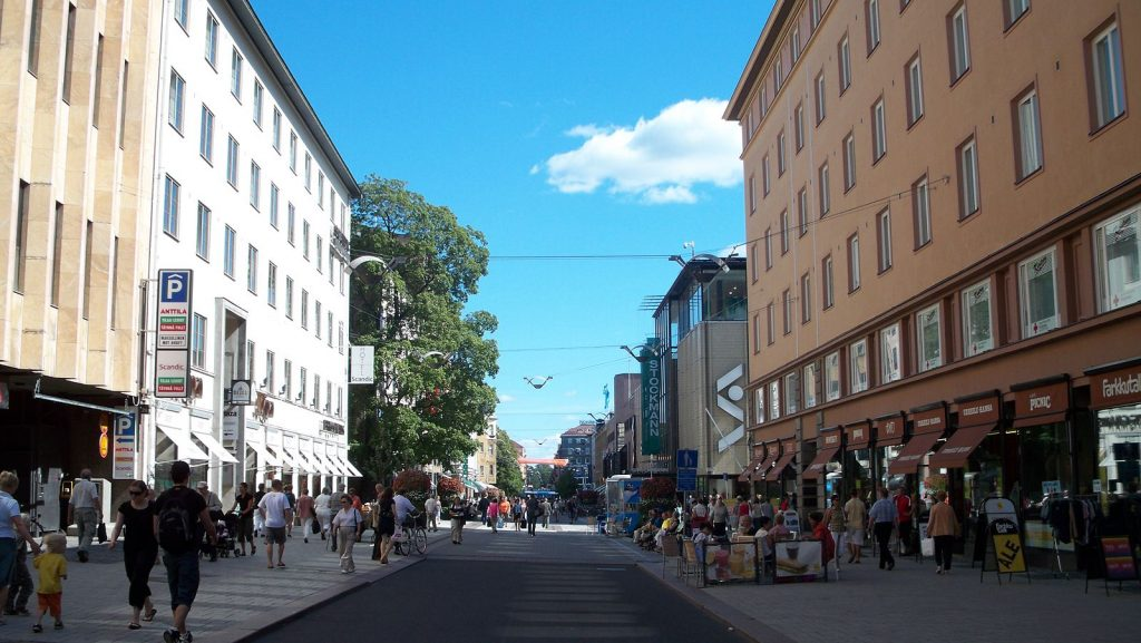Turku Car-free zone (IMAGE: Arthur Kho Caayon, CC BY)