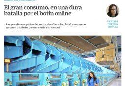 El gran consumo, en una dura batalla por el botín online - Cinco Dias