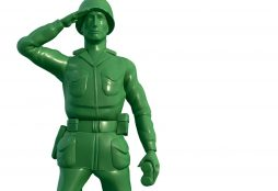 Little green soldier