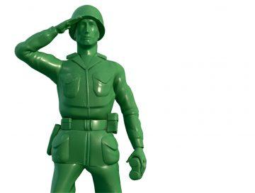 Little green soldier