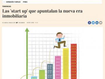 Las 'start up' que apuntalan la nueva era inmobiliaria - Expansion