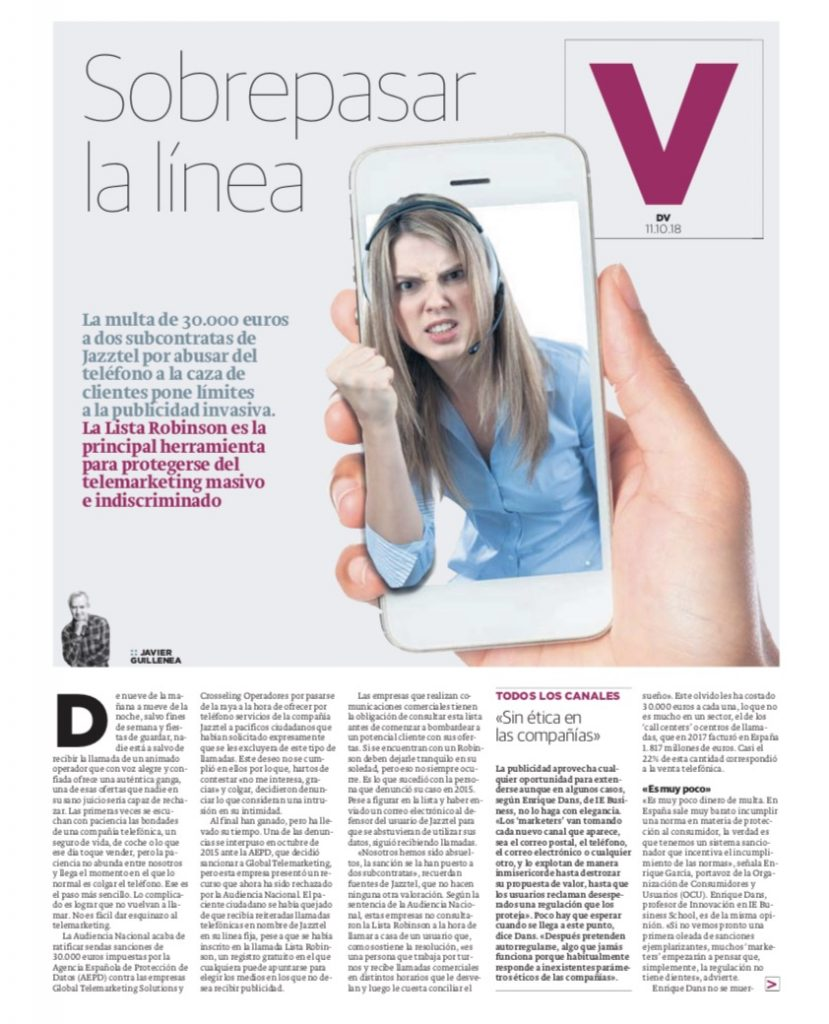 Sobrepasar la línea - El Diario Vasco (pdf)
