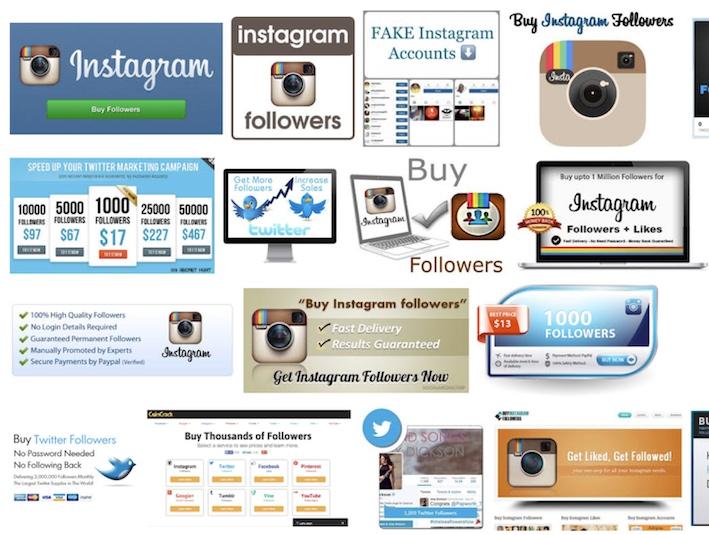 Instagram y la falsedad