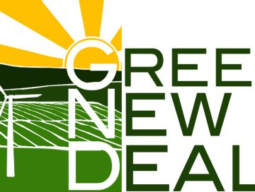 Green New Deal logo