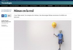 Minas en la red - La Vanguardia