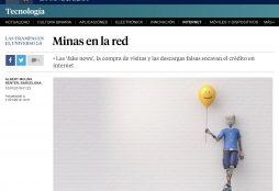 Minas en la red - La Vanguardia