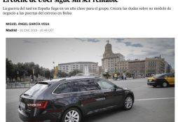 El coche de Uber sigue sin ser rentable - El País