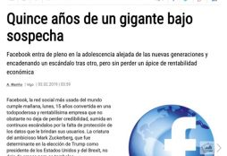 Quince años de un gigante bajo sospecha - Faro de Vigo