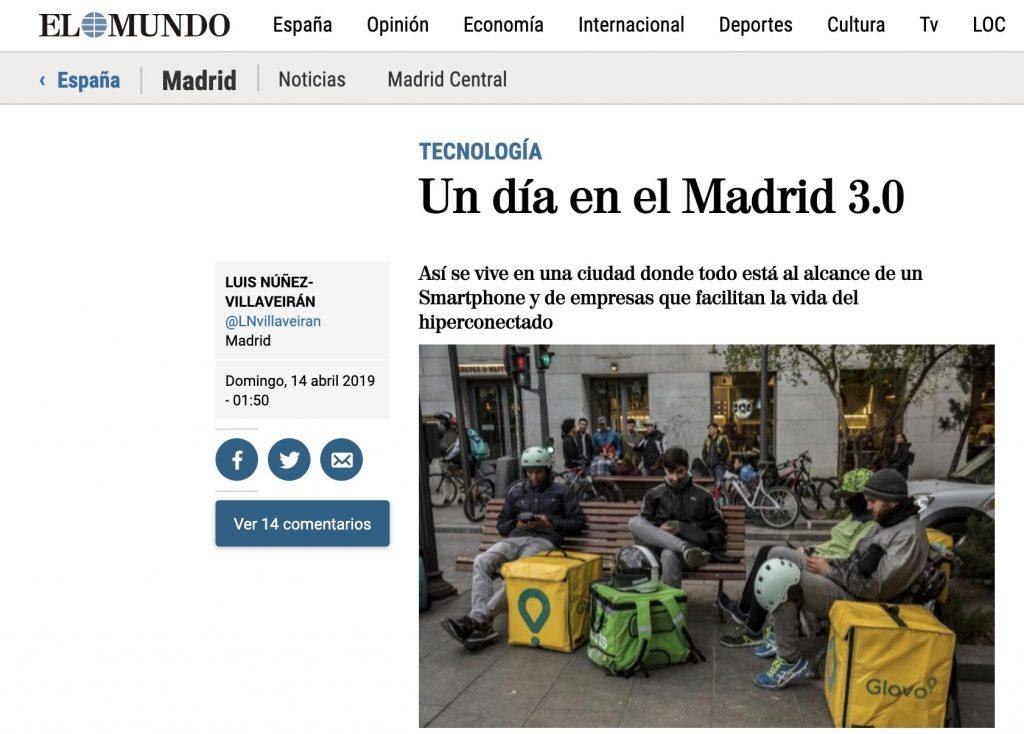 Un día en el Madrid 3.0 - El Mundo
