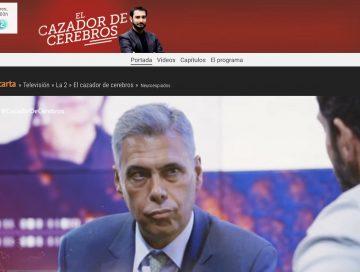 IMAGE: El cazador de cerebros - RTVE